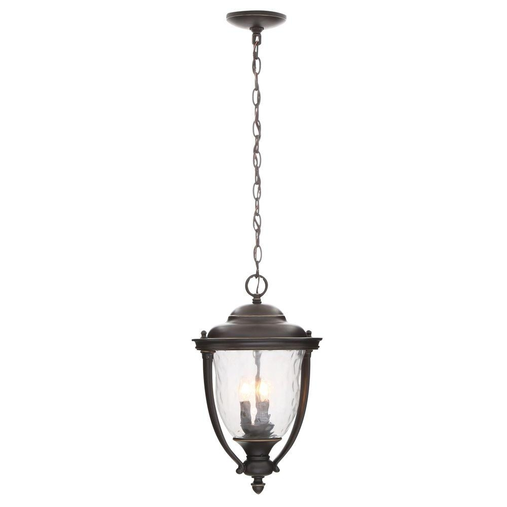 Inspiration about Progress Lighting Prestwick Collection 3 Light Oil Rubbed Bronze Within Oil Rubbed Bronze Outdoor Hanging Lights (#4 of 15)