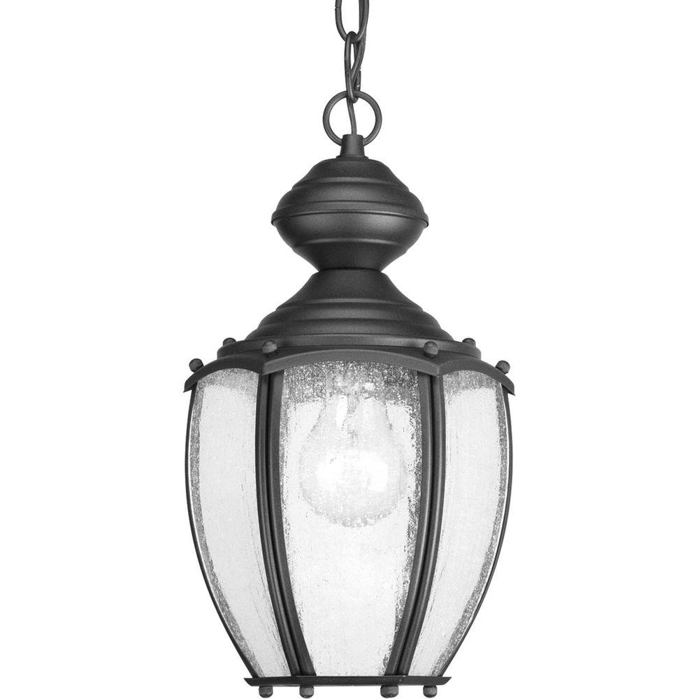 Progress Lighting Roman Coach Collection 1 Light Outdoor Black Inside Outdoor Hanging Coach Lanterns (View 9 of 15)