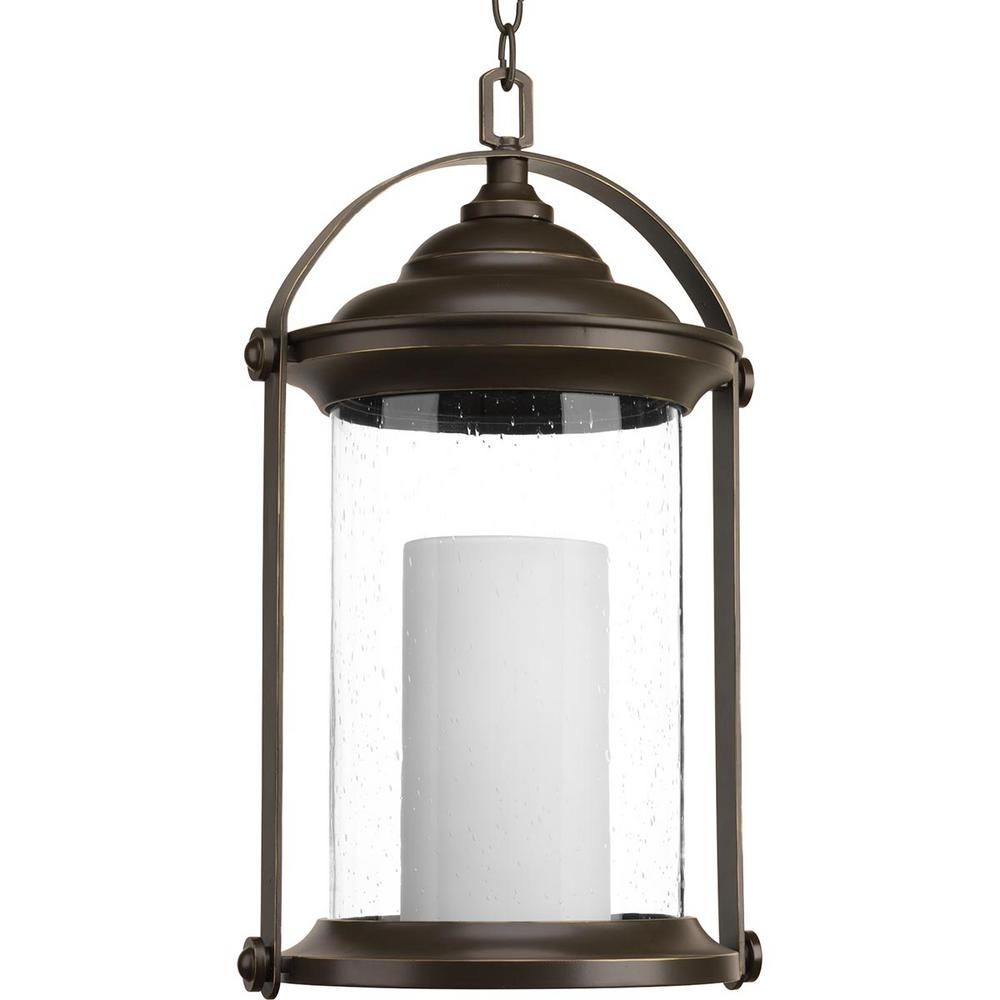 Inspiration about Progress Lighting Whitacre Collection Antique Bronze Integrated Led With Led Outdoor Hanging Lanterns (#14 of 15)
