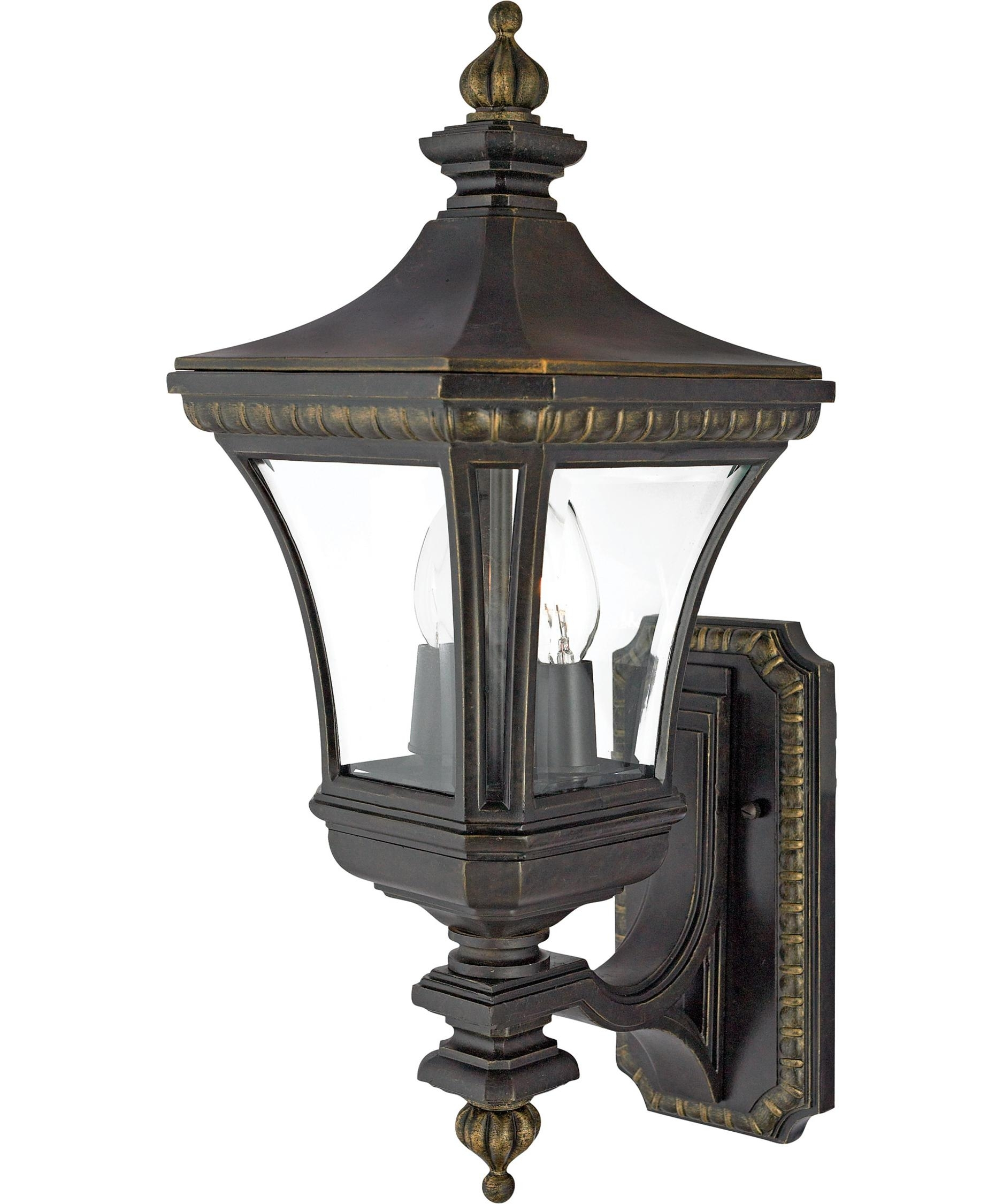 Inspiration about Quoizel De8959 Devon 9 Inch Wide 2 Light Outdoor Wall Light Inside Victorian Outdoor Wall Lighting (#11 of 15)