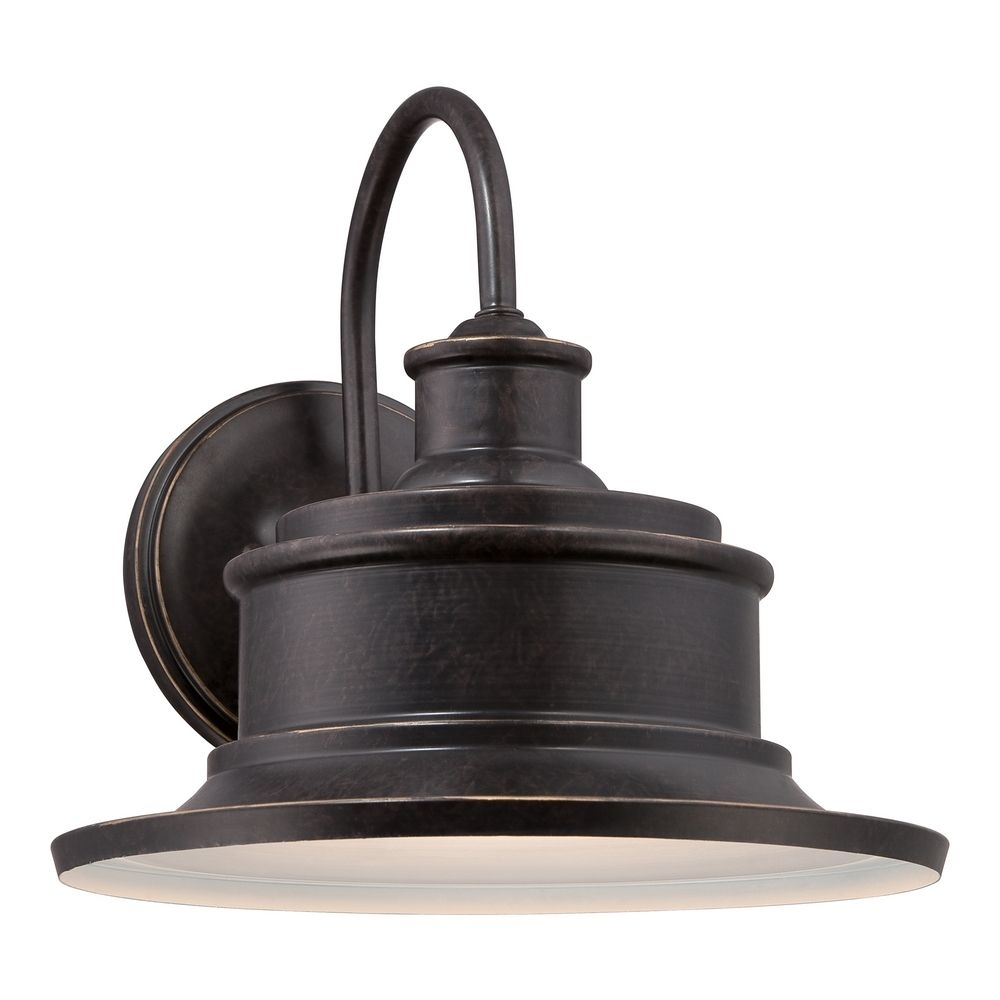 Inspiration about Quoizel Seaford Imperial Bronze Outdoor Wall Light | Sfd8409Ib Pertaining To Vintage Outdoor Wall Lights (#11 of 15)