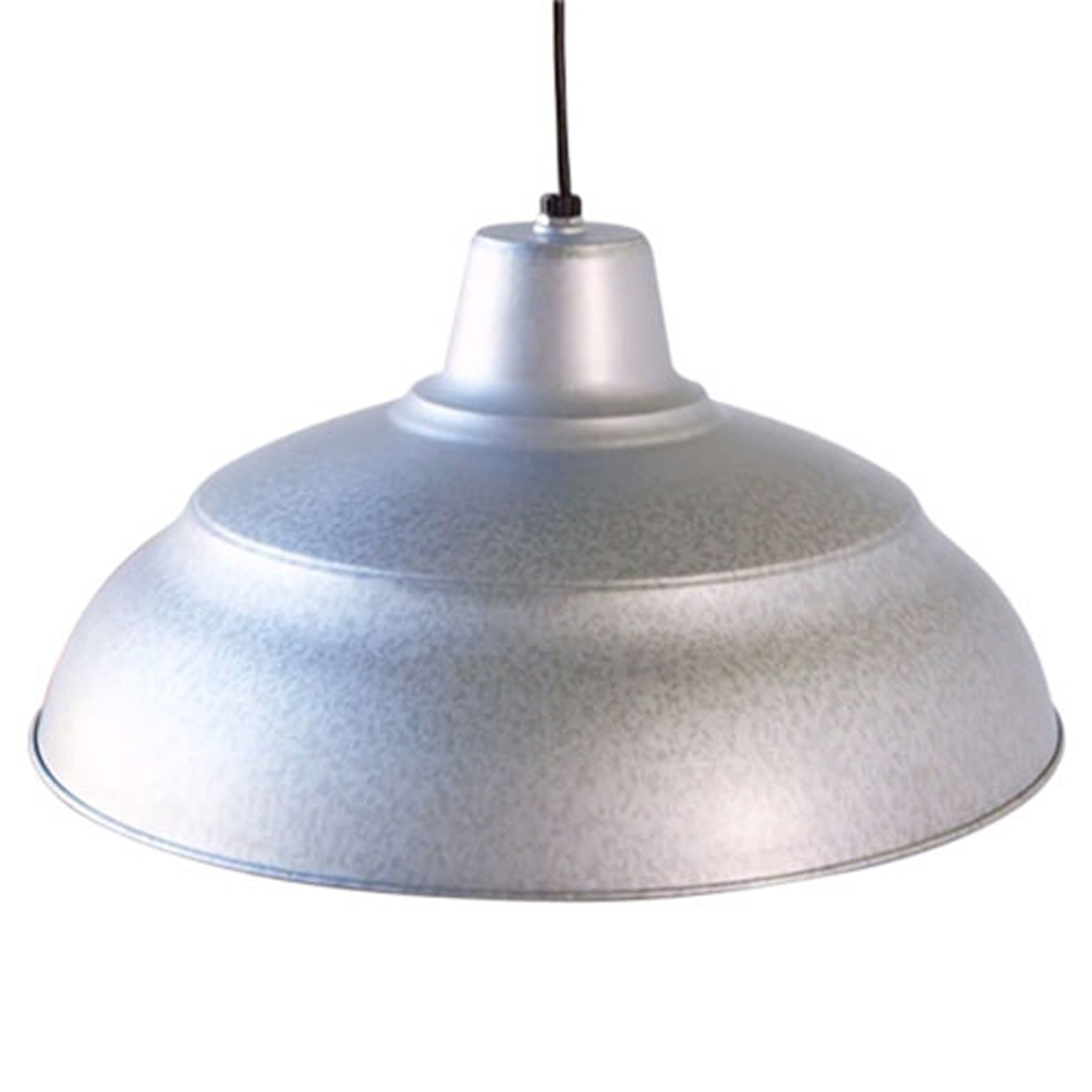 Inspiration about R Series Galvanized 17 Inch Warehouse Cord Hung Outdoor Pendant For Galvanized Outdoor Ceiling Lights (#3 of 15)