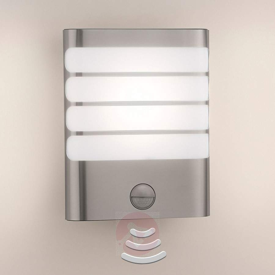 Popular Photo of Led Outdoor Raccoon Wall Lights With Motion Detector