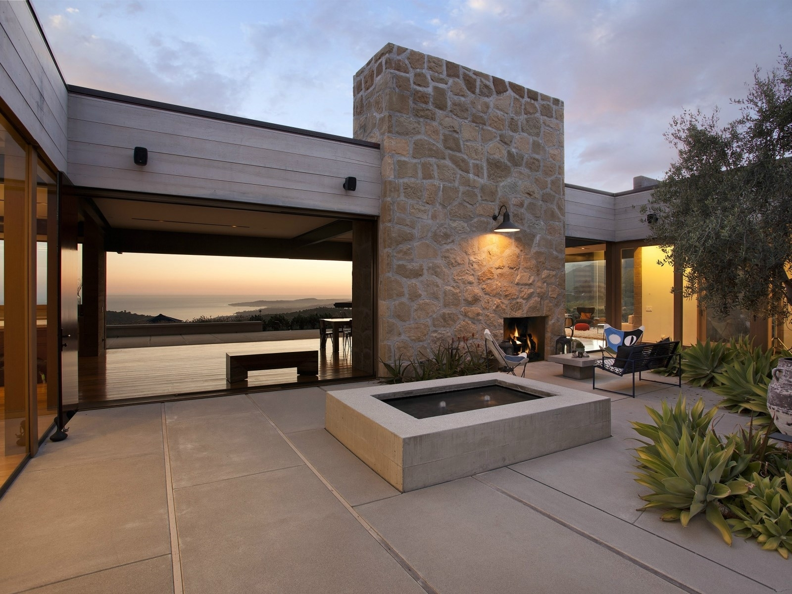 Inspiration about Real Estate Envy: 7 Dreamy Vacation Homes | Modern Patio Design Within Modern Patio Outdoor Light Fixtures (#12 of 15)