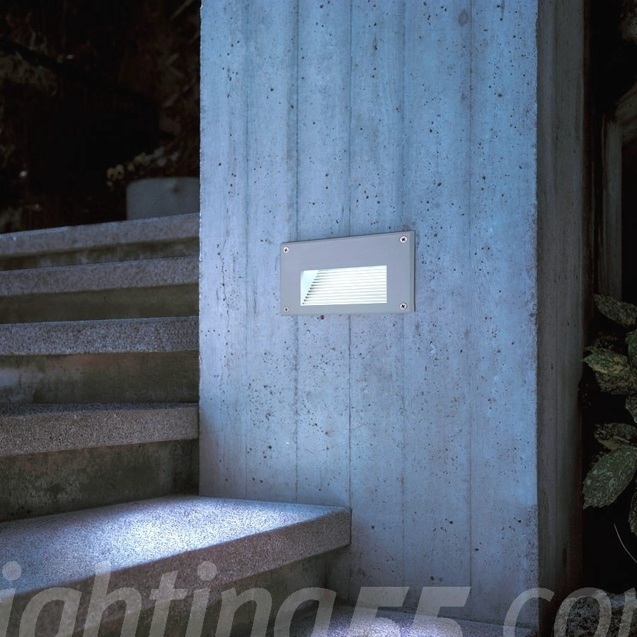 Inspiration about Recessed Exterior Led Wall Lights For Recessed Outdoor Wall Lighting (#2 of 15)