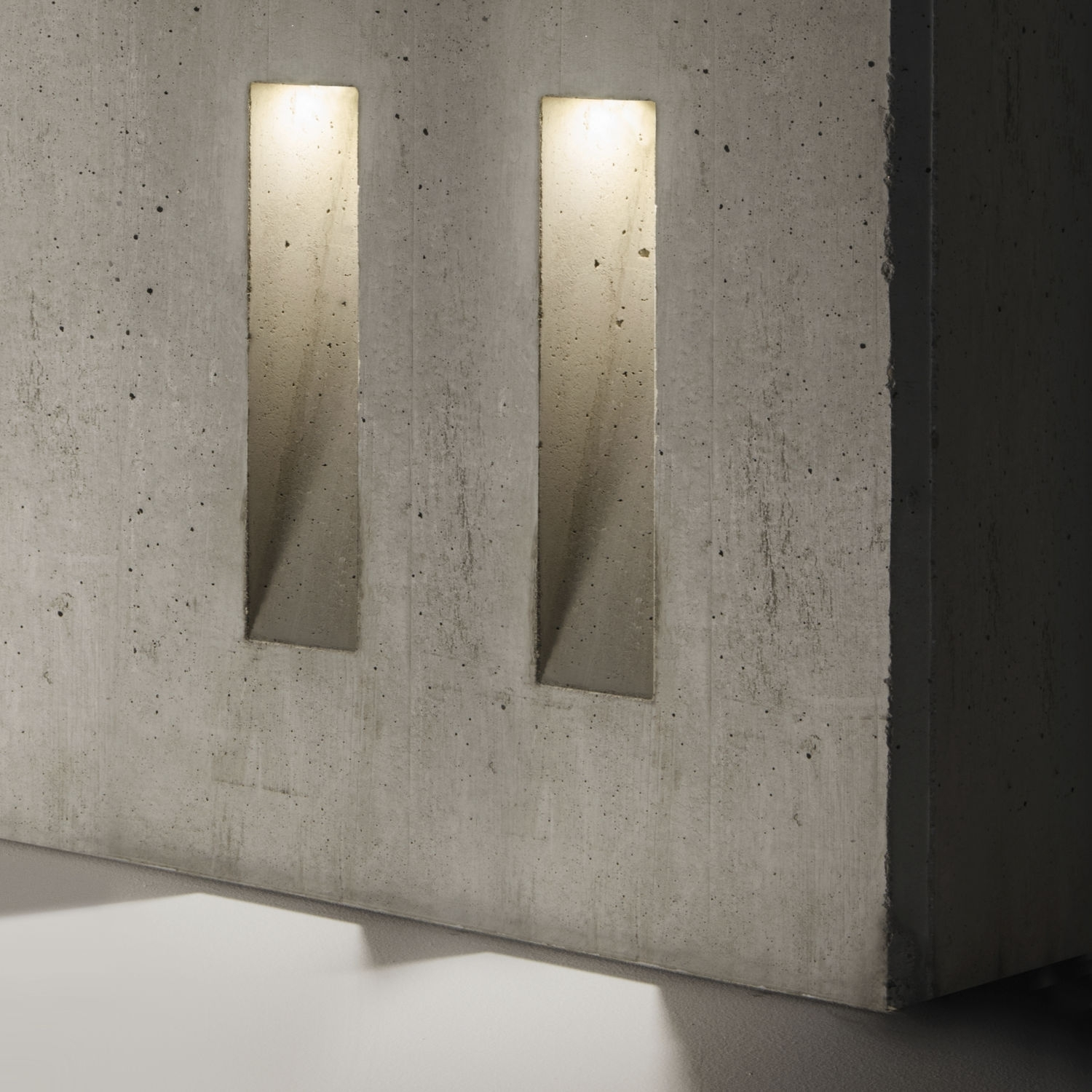 Inspiration about Recessed Wall Light Fixture / Led / Rectangular / Outdoor – Ghost With Regard To Recessed Outdoor Wall Lighting (#9 of 15)