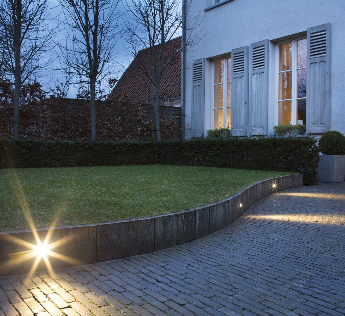 Recessed Wall Light Fixture / Led / Round / Outdoor – Map – Wever Within Recessed Outdoor Wall Lighting (#14 of 15)