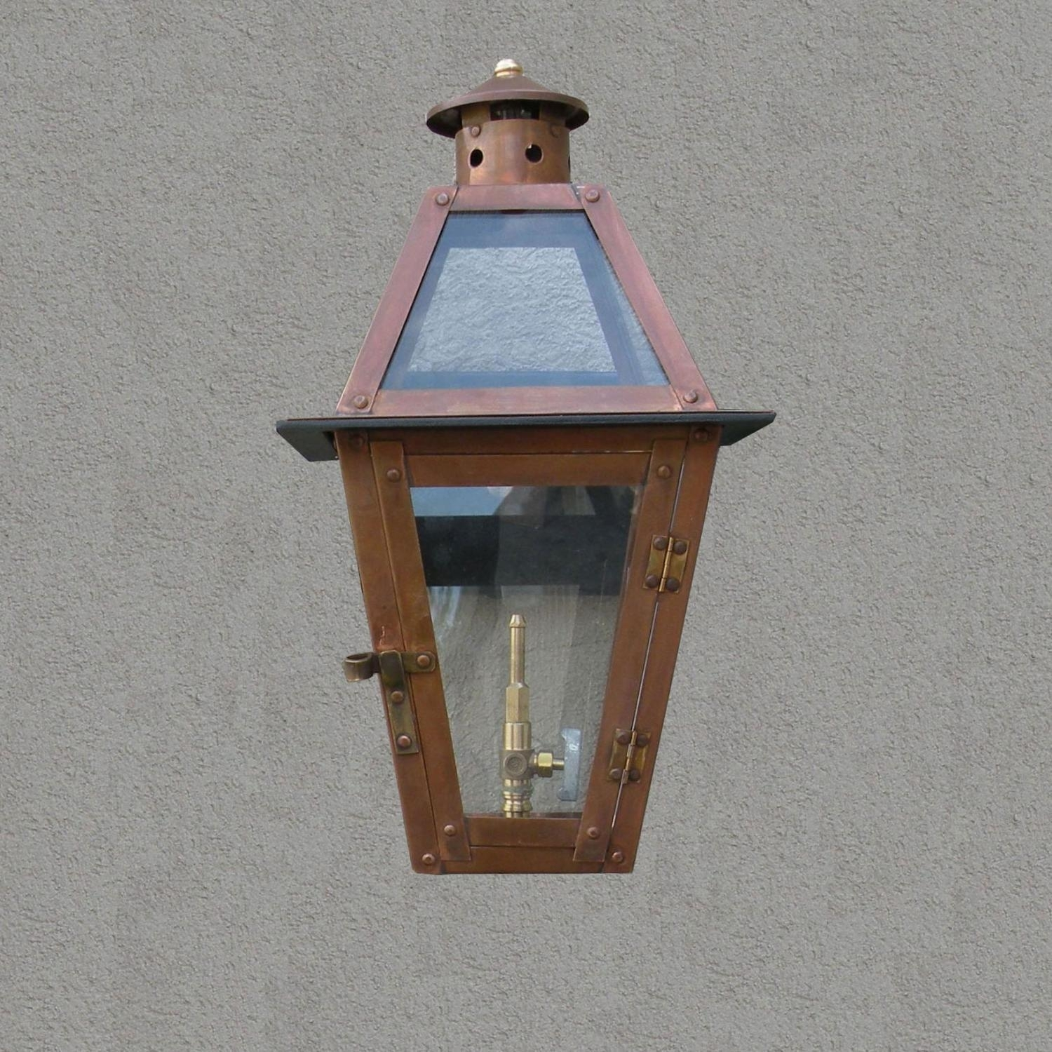 Inspiration about Regency Gl15 Chateau Natural Gas Light With Open Flame Burner And Intended For Outdoor Wall Gas Lights (#14 of 15)