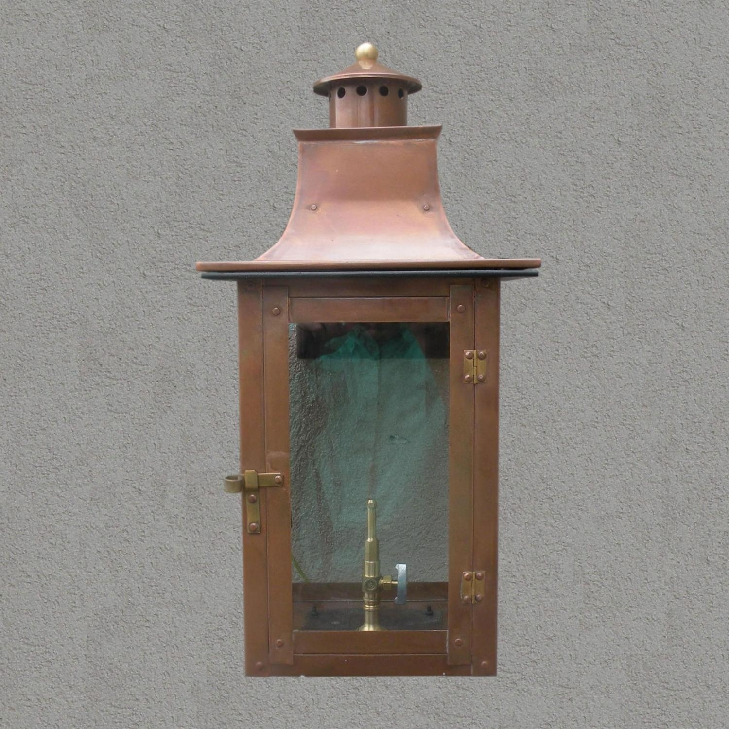 Inspiration about Regency Gl21 Faye Rue Small Natural Gas Light With Open Flame Burner Regarding Outdoor Wall Gas Lights (#10 of 15)