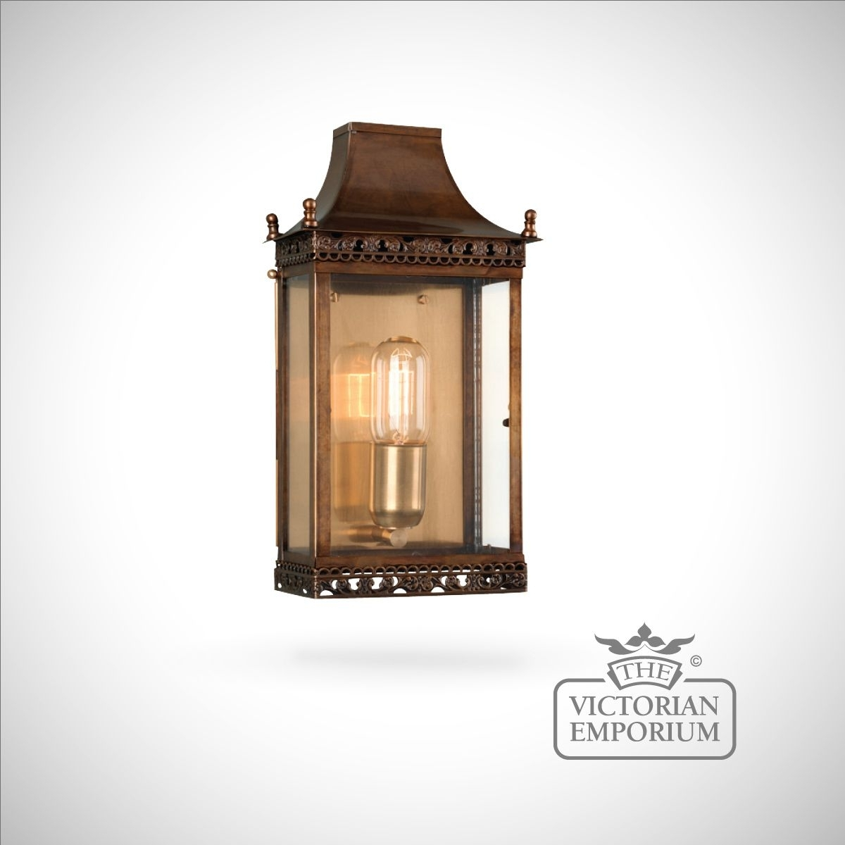 Inspiration about Regents Brass Wall Lantern – Antique Brass | Outdoor Wall Lights With Antique Brass Outdoor Lighting (#10 of 15)