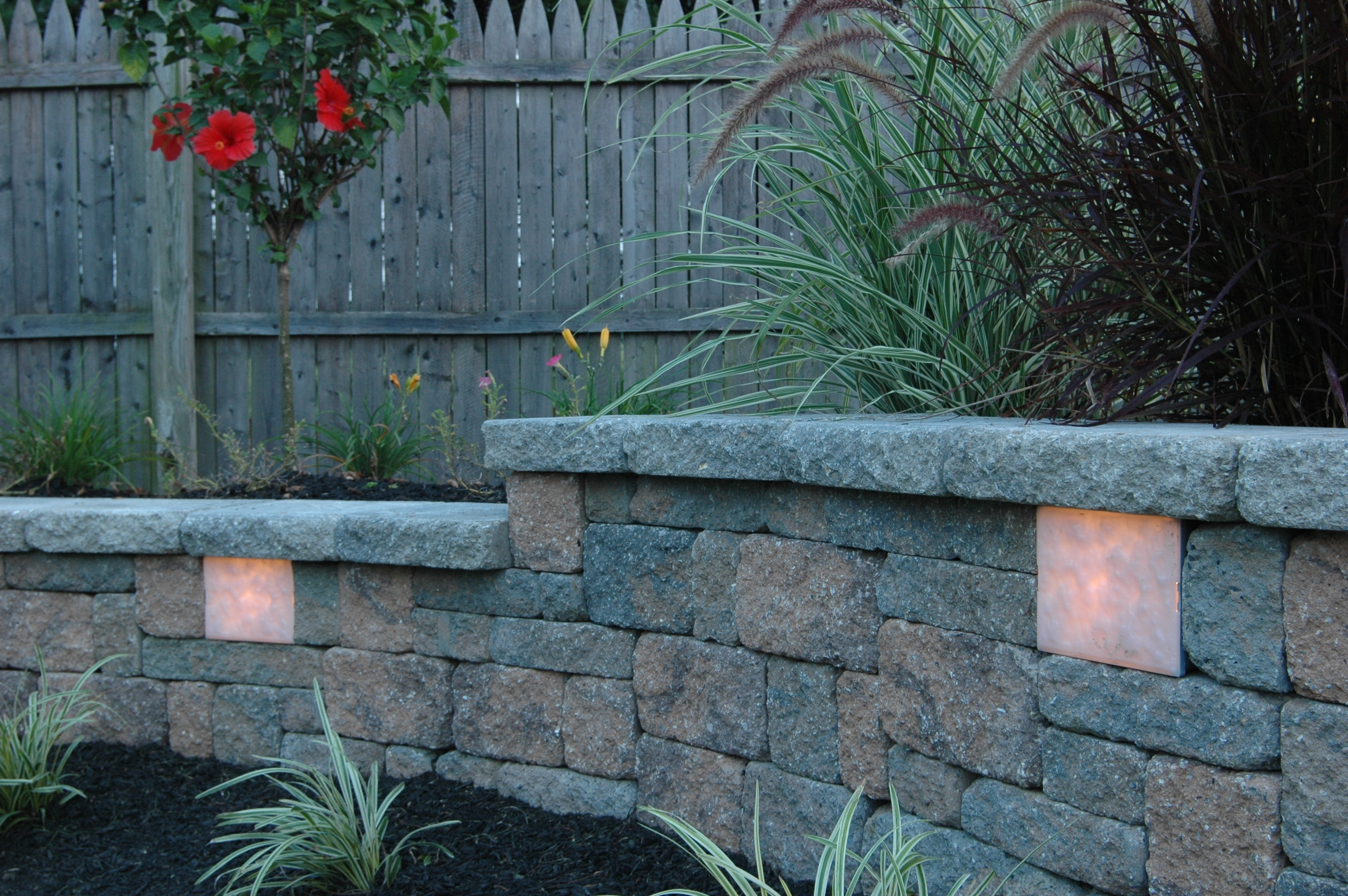 Inspiration about Retaining Wall Lights : Tri North Lighitng, Inc. In Outdoor Block Wall Lighting (#2 of 15)