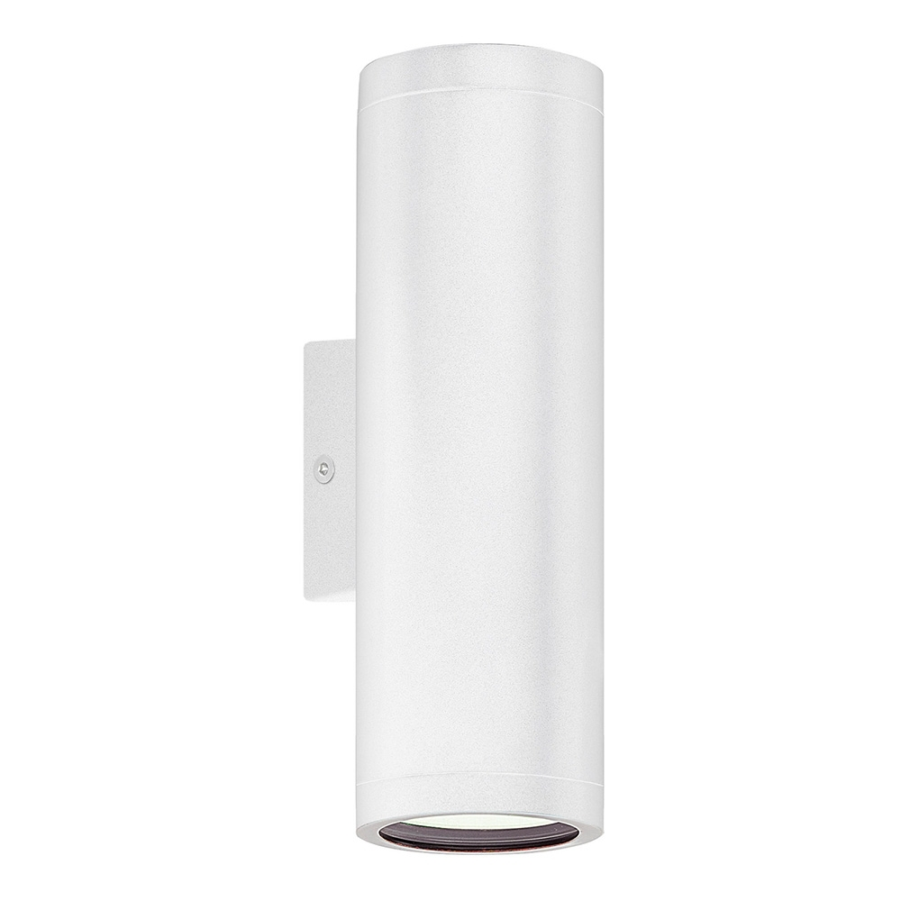 Inspiration about Riga Up/down Wall Pillar Spot Light White – 84004. Intended For 200mm Eglo Riga Outdoor Led Wall Lighting (#2 of 15)
