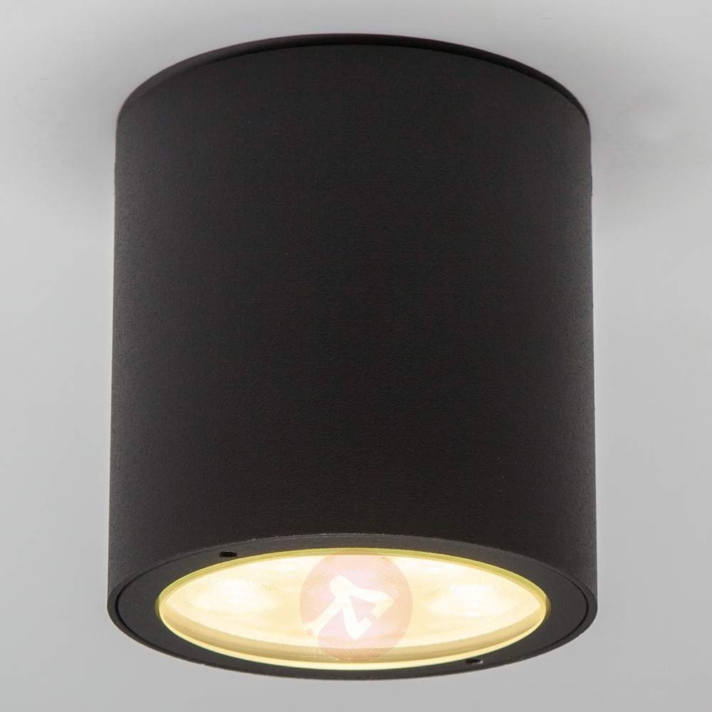 Round Led Outdoor Ceiling Spotlight Meret, Ip54 | Lights (View 13 of 15)