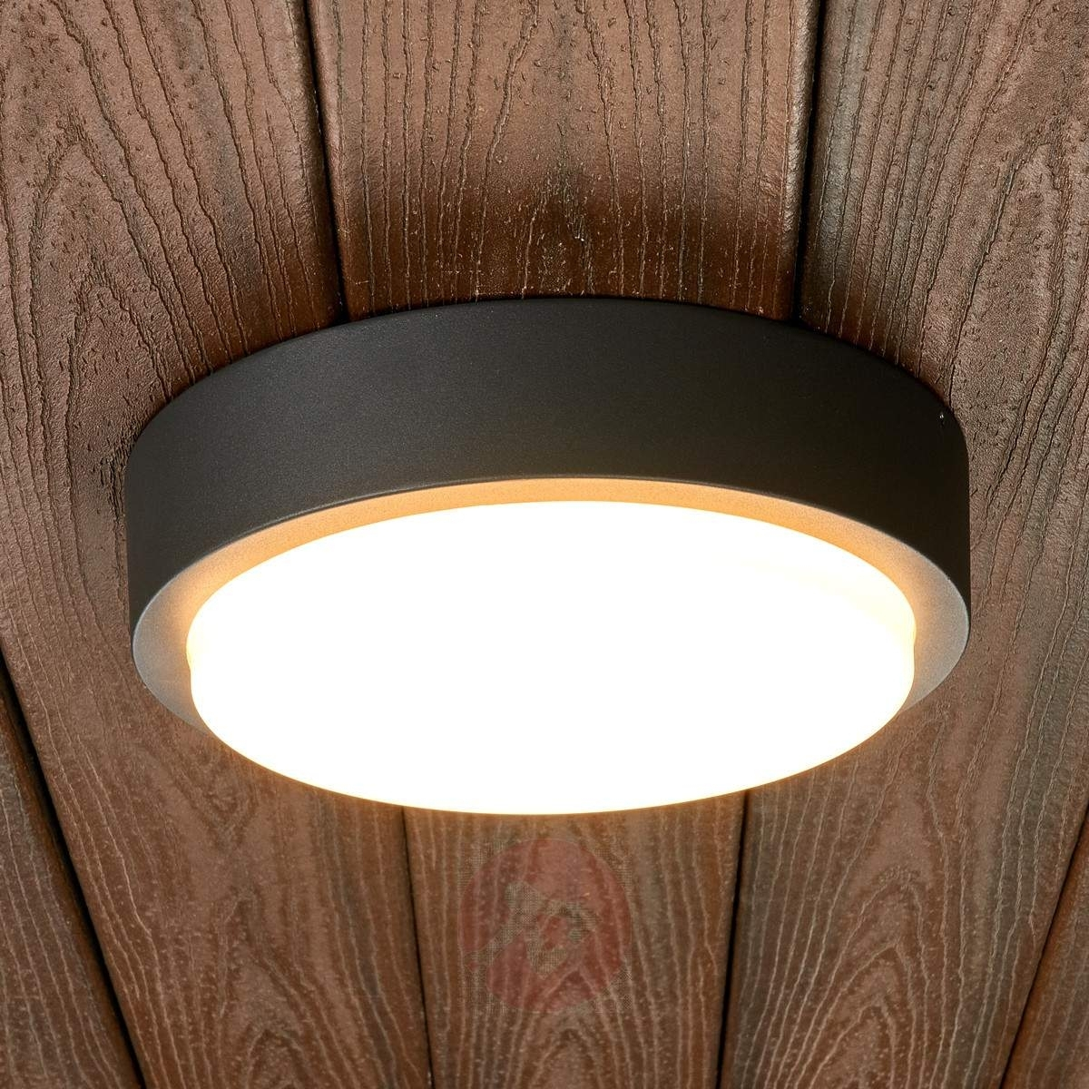 Inspiration about Round Led Outdoor Wall Light Maxine | Lights.ie For Round Outdoor Wall Lights (#10 of 15)