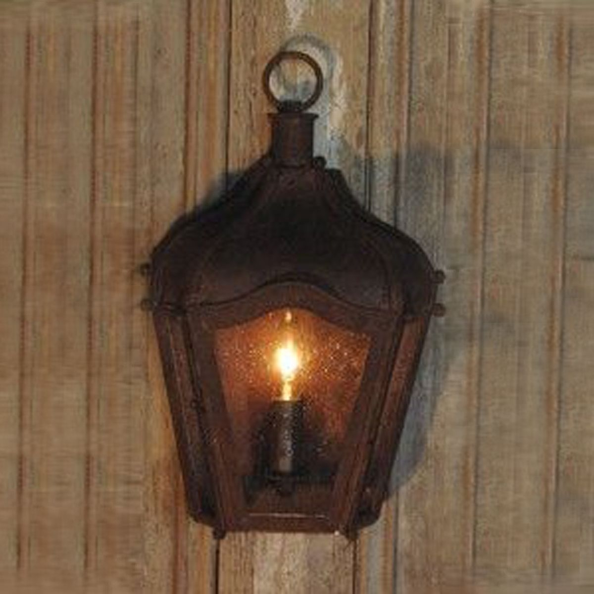 Inspiration about Rustic Brown Iron Carriage Wall Lantern Indoor/outdoor | Coastal In Outdoor Wall Lights For Coastal Areas (#6 of 15)