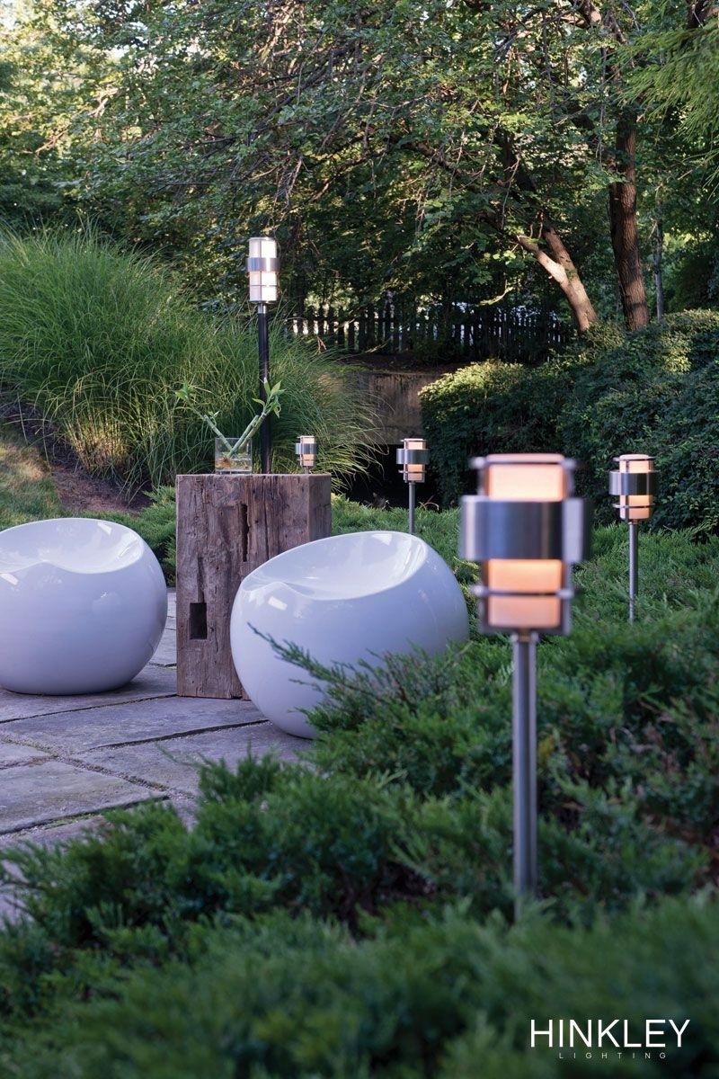 Saturnhinkley Lighting Is A Stunning, Modern #landscape Light Regarding Modern Garden Landscape Hinkley Lighting (#15 of 15)