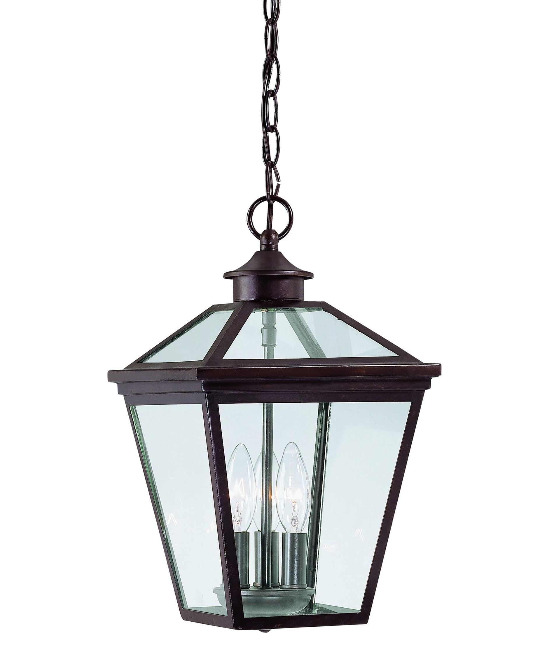 Savoy House 5 146 13 Ellijay 9 Inch Wide 3 Light Outdoor Hanging With Regard To Outdoor Hanging Glass Lanterns (View 10 of 15)