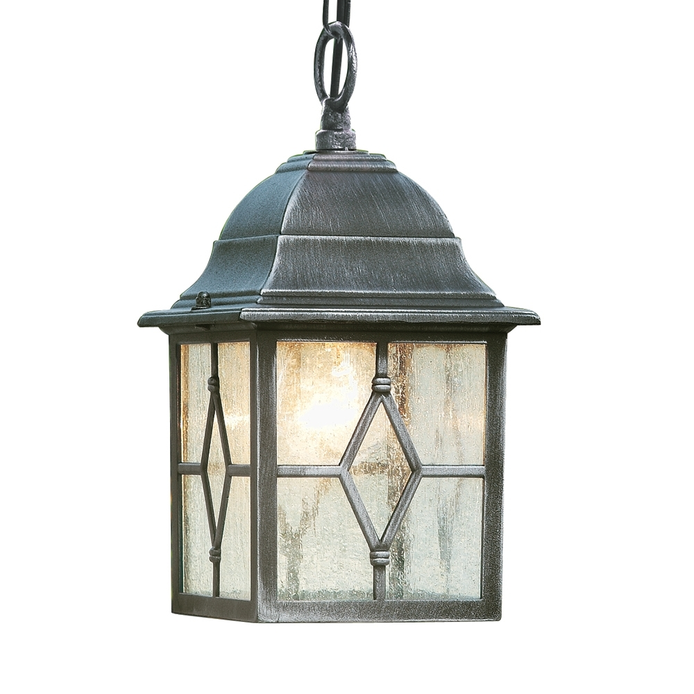 Searchlight 1641 Genoa Outdoor Hanging Porch Lantern From Lights 4 Within Outdoor Hanging Lights For Porch (#15 of 15)