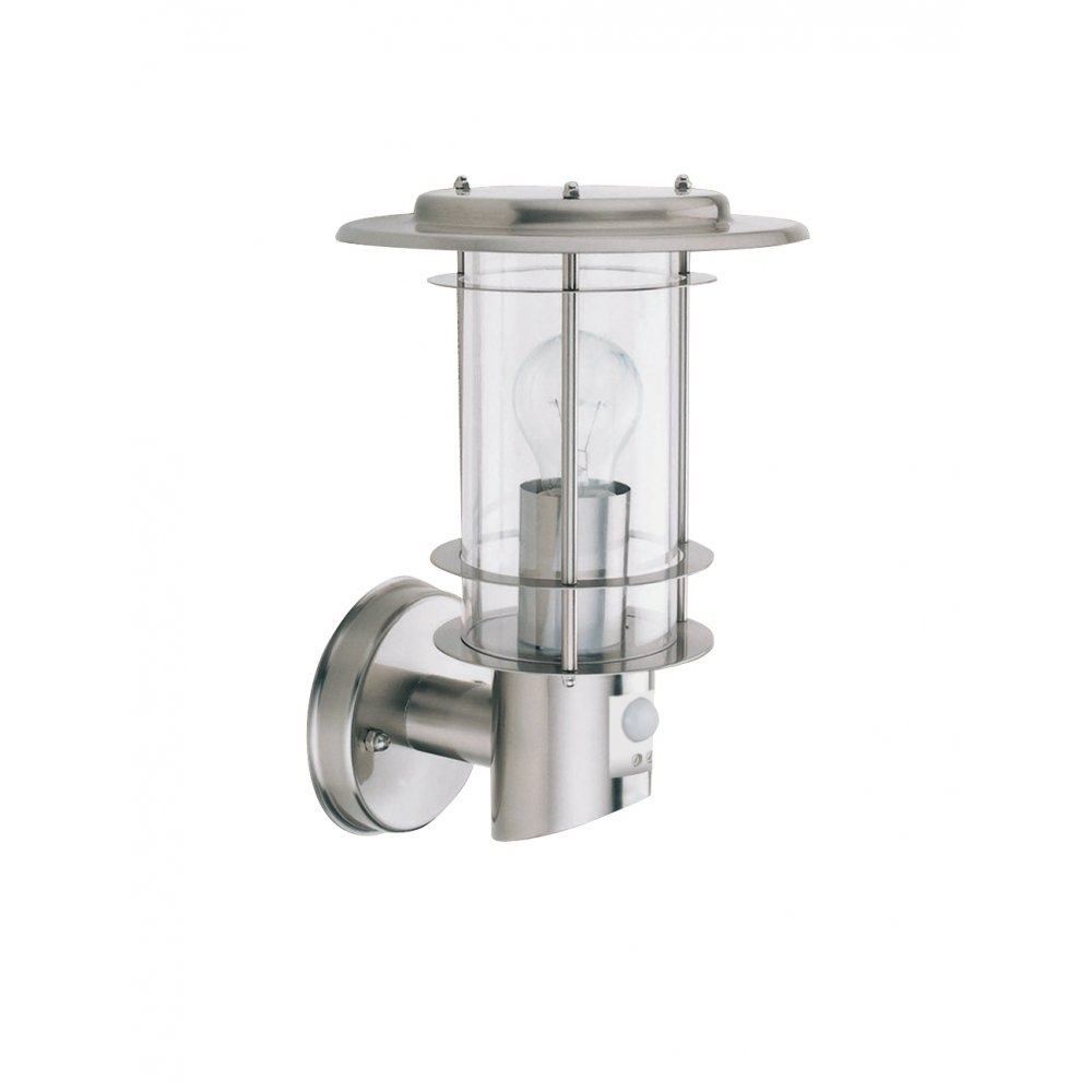 Searchlight 6211 | 1 Light Modern Outdoor Wall Light | Stainless Pertaining To Contemporary Porch Light Fixtures For Garden (#12 of 15)