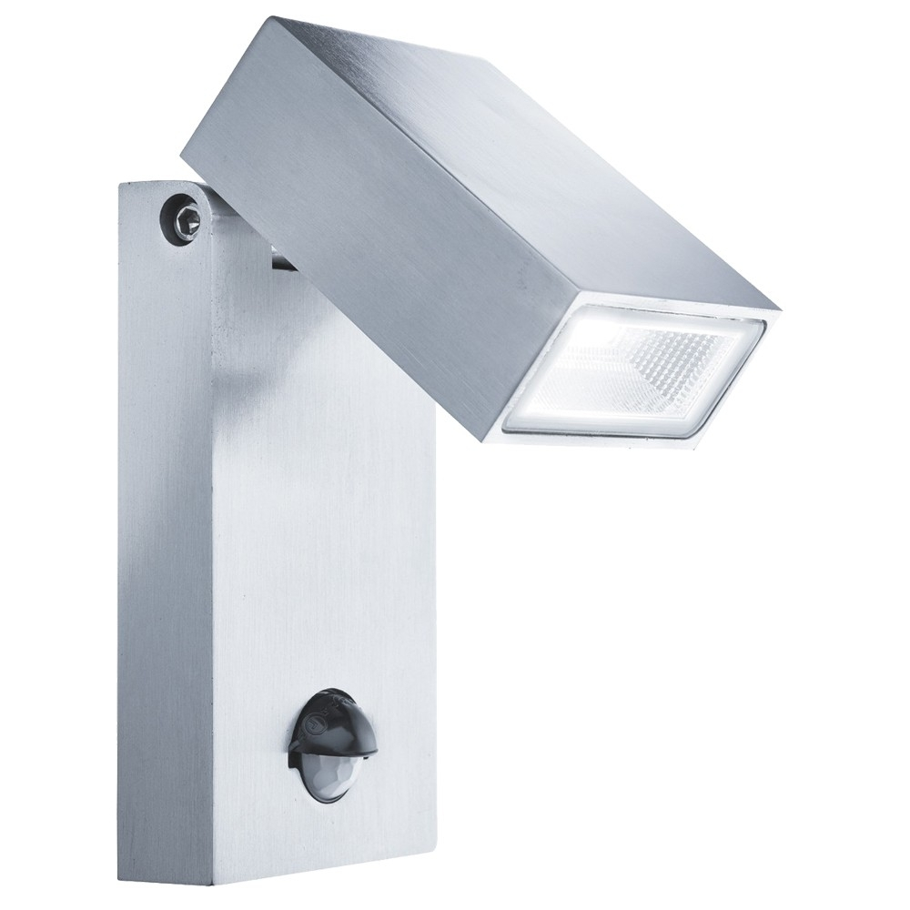 Searchlight Outdoor Led Wall Light With Pir Sensor | Pagazzi With Outdoor Led Wall Lights With Pir (#15 of 15)