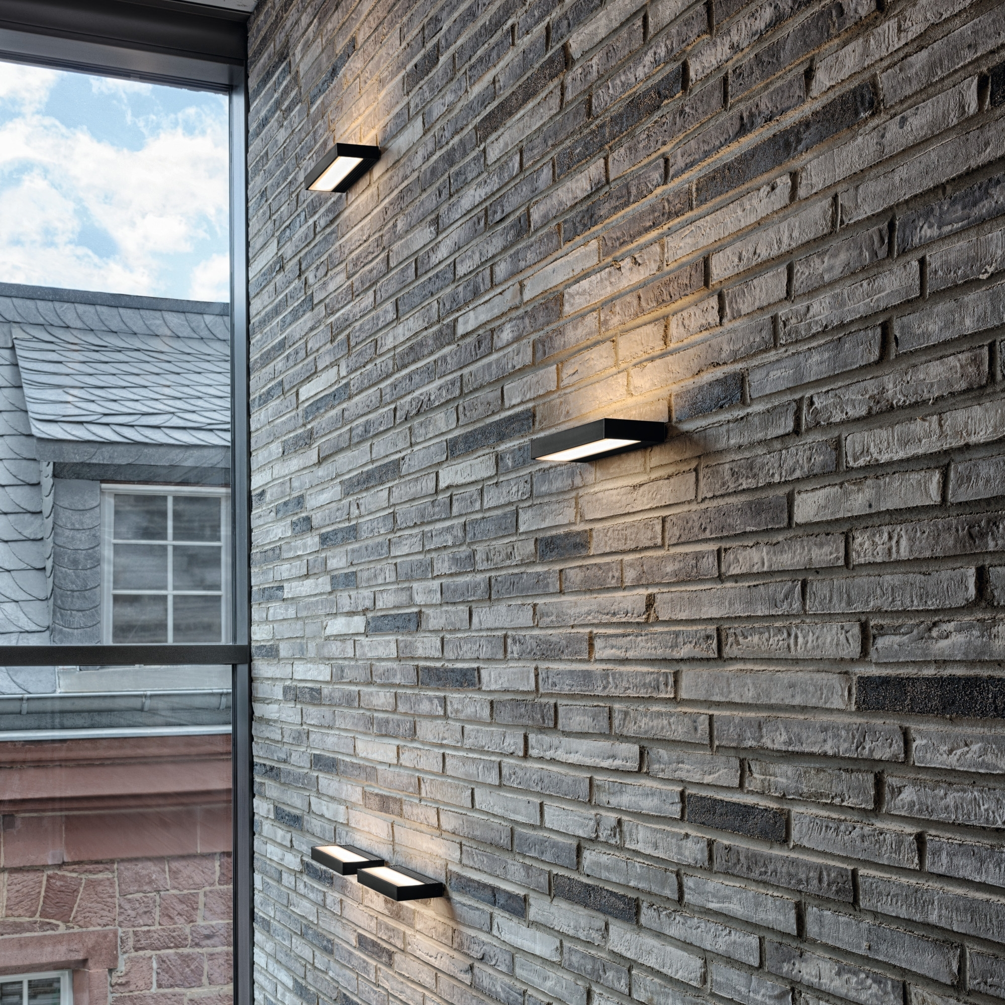 Serien Lighting Sml Led 1200 Wall Light For Outdoor Stone Wall Lighting (View 6 of 15)