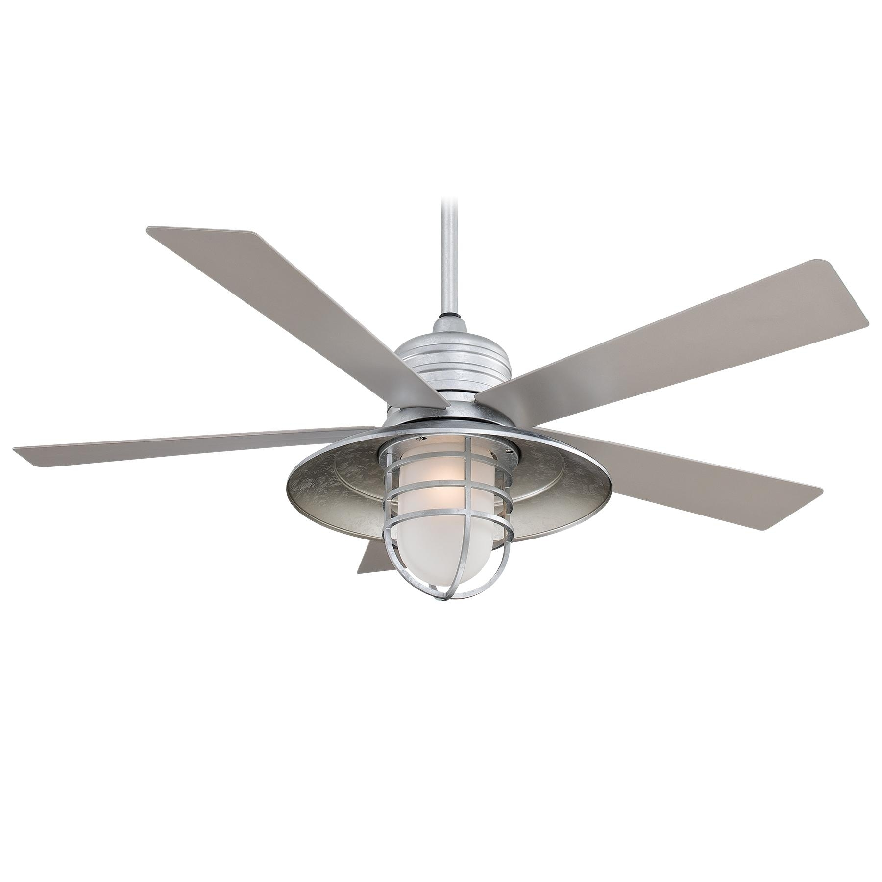 Popular Photo of Outdoor Ceiling Fans With Bright Lights