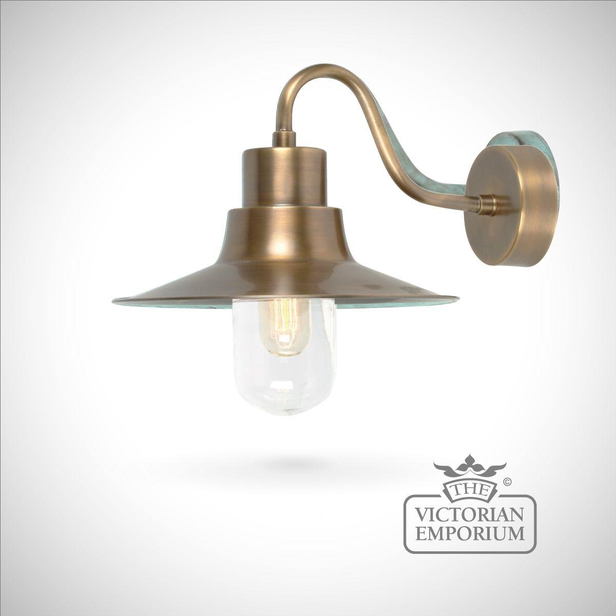 Sheldon Wall Lantern – Brass | Outdoor Wall Lights Regarding Brass Outdoor Wall Lighting (#14 of 15)