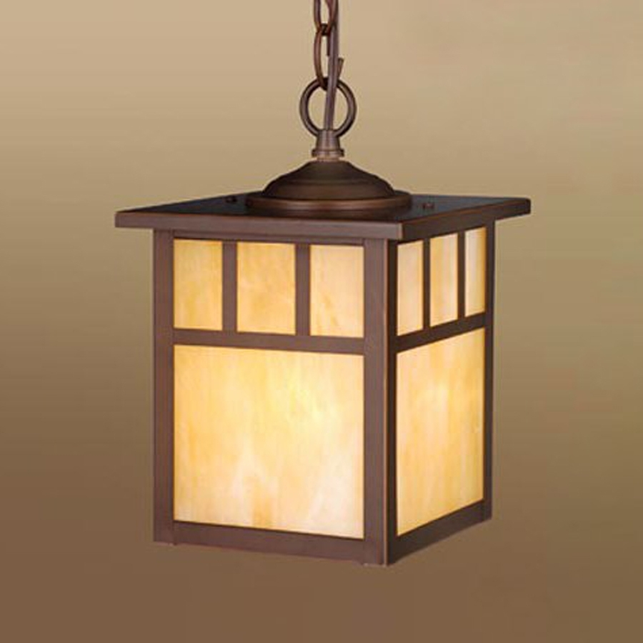 Shop Cascadia Lighting Mission 11 In Burnished Bronze Hardwired Regarding Mission Style Outdoor Ceiling Lights (#15 of 15)