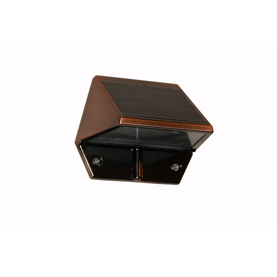 Shop Classy Caps 3 In H Led Copper Solar Dark Sky Outdoor Wall Light With Dark Sky Outdoor Wall Lighting (View 7 of 15)