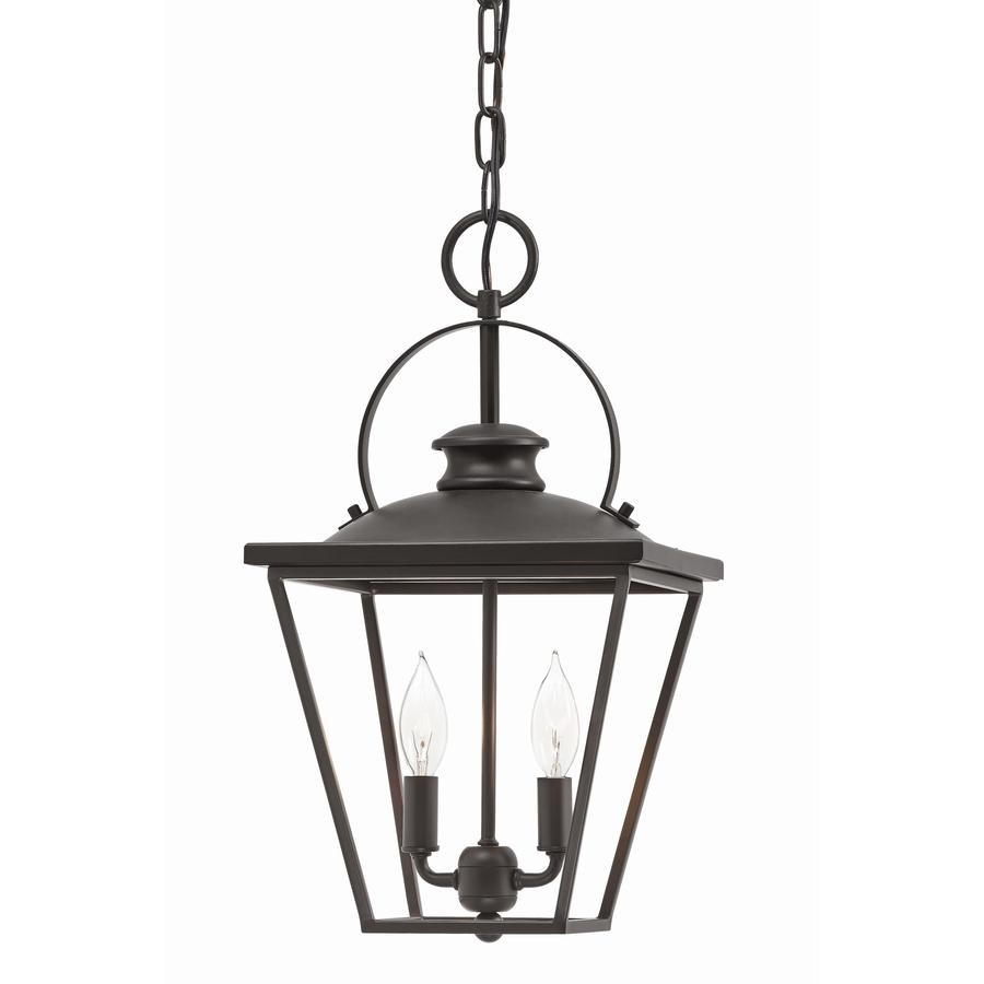 Shop Kichler Arena Cove 10 In Olde Bronze Country Cottage Single With Outdoor Pendant Kichler Lighting (View 9 of 15)