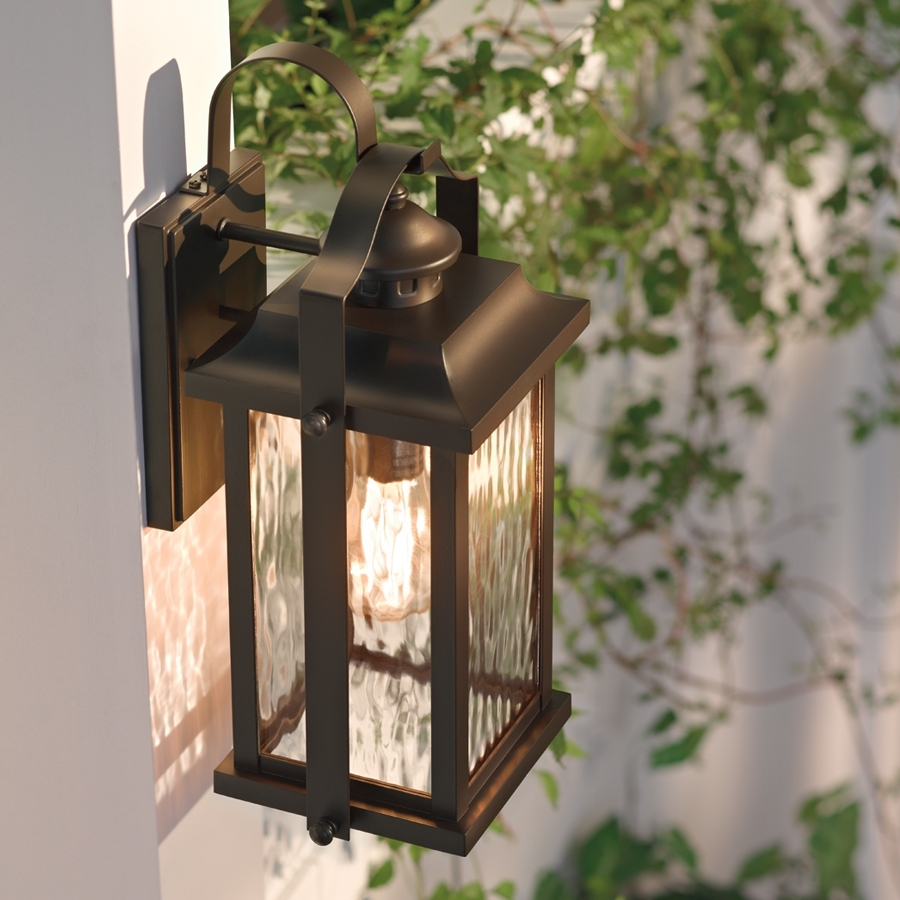 Kichler lighting outdoor outdoor lighting ideas kichler lighting linford 15 in h olde bronze outdoor wall light intended for aloadofball Gallery