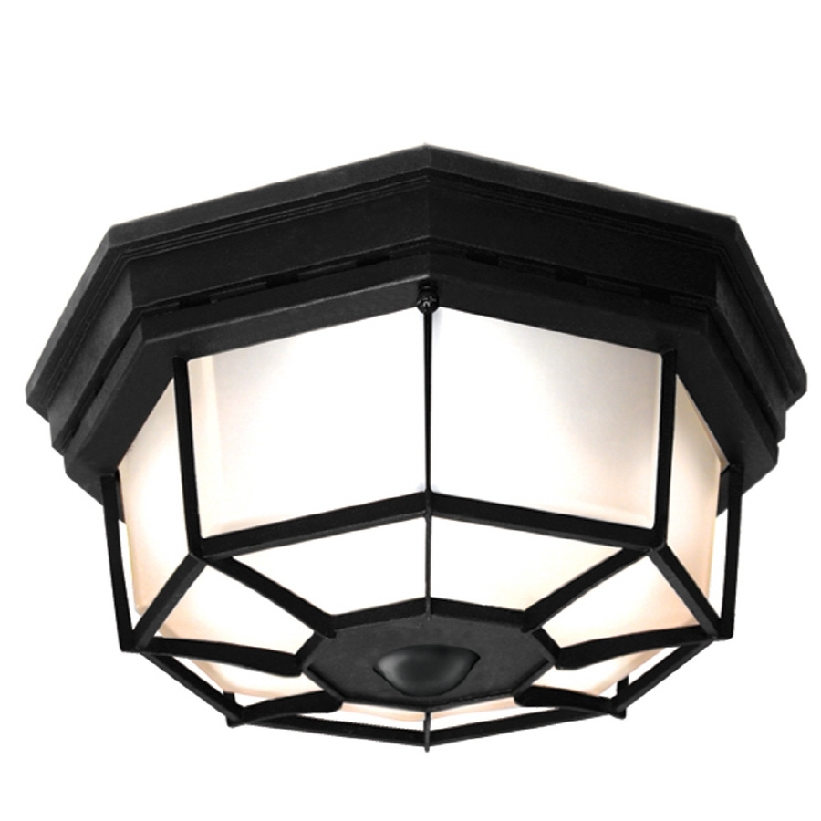 Shop Outdoor Flush Mount Lights At Lowes For Outdoor Ceiling Flush Lights (#9 of 15)