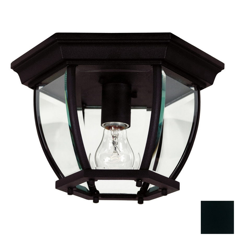 Shop Outdoor Flush Mount Lights At Lowes For Outdoor Ceiling Mounted Lights (#11 of 15)