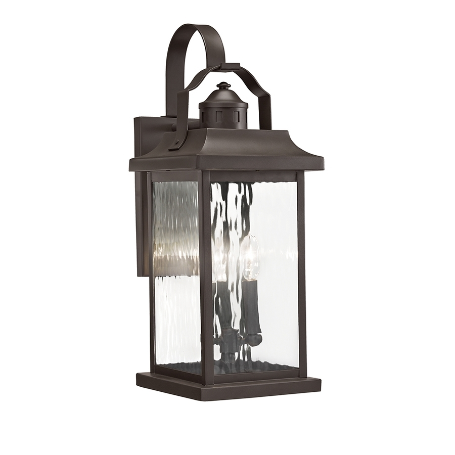 Shop Outdoor Wall Lights At Lowes In Kichler Outdoor Lighting Wall Sconces (View 3 of 15)