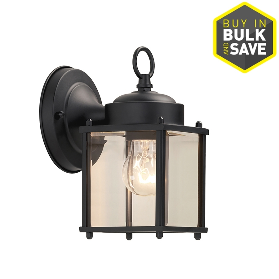 Shop Outdoor Wall Lights At Lowes Inside Lowes Led Outdoor Wall Lighting (#10 of 15)