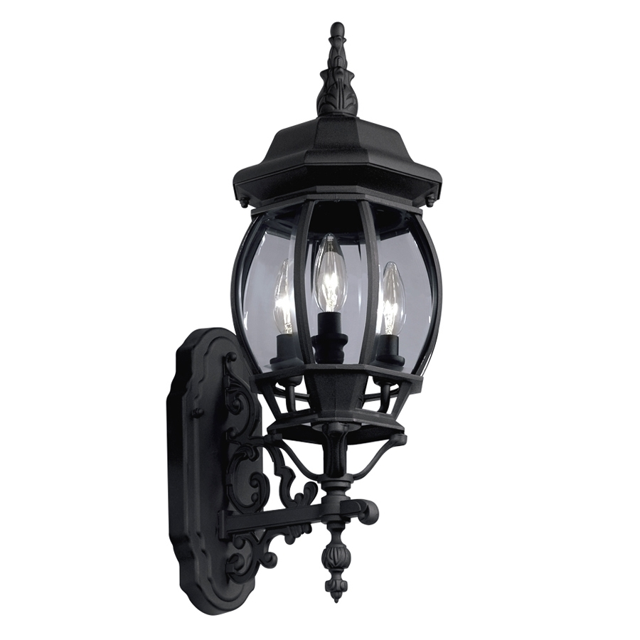 Shop Outdoor Wall Lights At Lowes Pertaining To Cheap Outdoor Wall Lighting Fixtures (#12 of 15)
