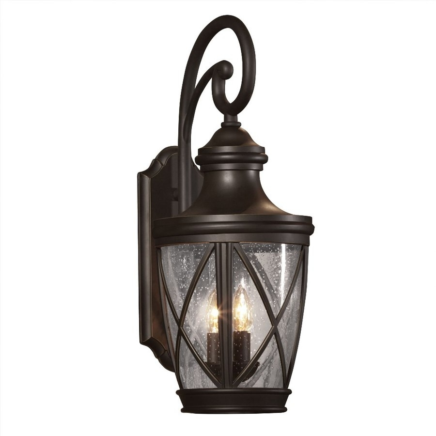 Shop Outdoor Wall Lights At Lowes With Regard To Outdoor Hanging Lanterns At Lowes (View 7 of 15)