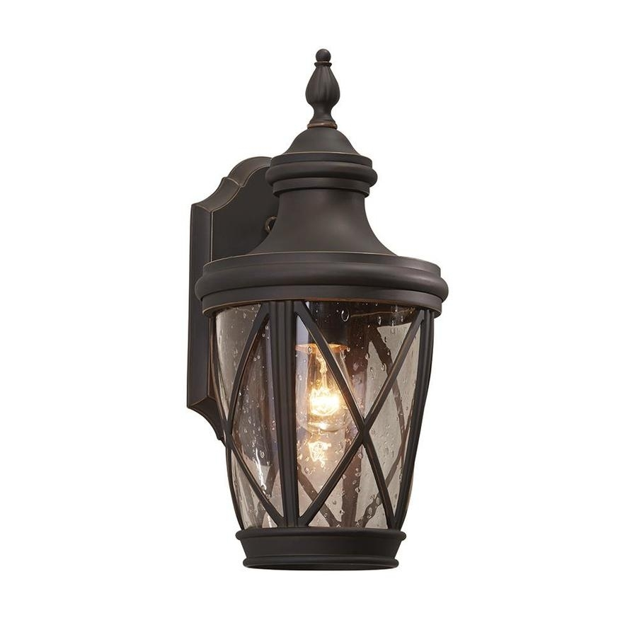 Shop Outdoor Wall Lights At Lowes Within Lowes Solar Garden Lights Fixtures (#14 of 15)