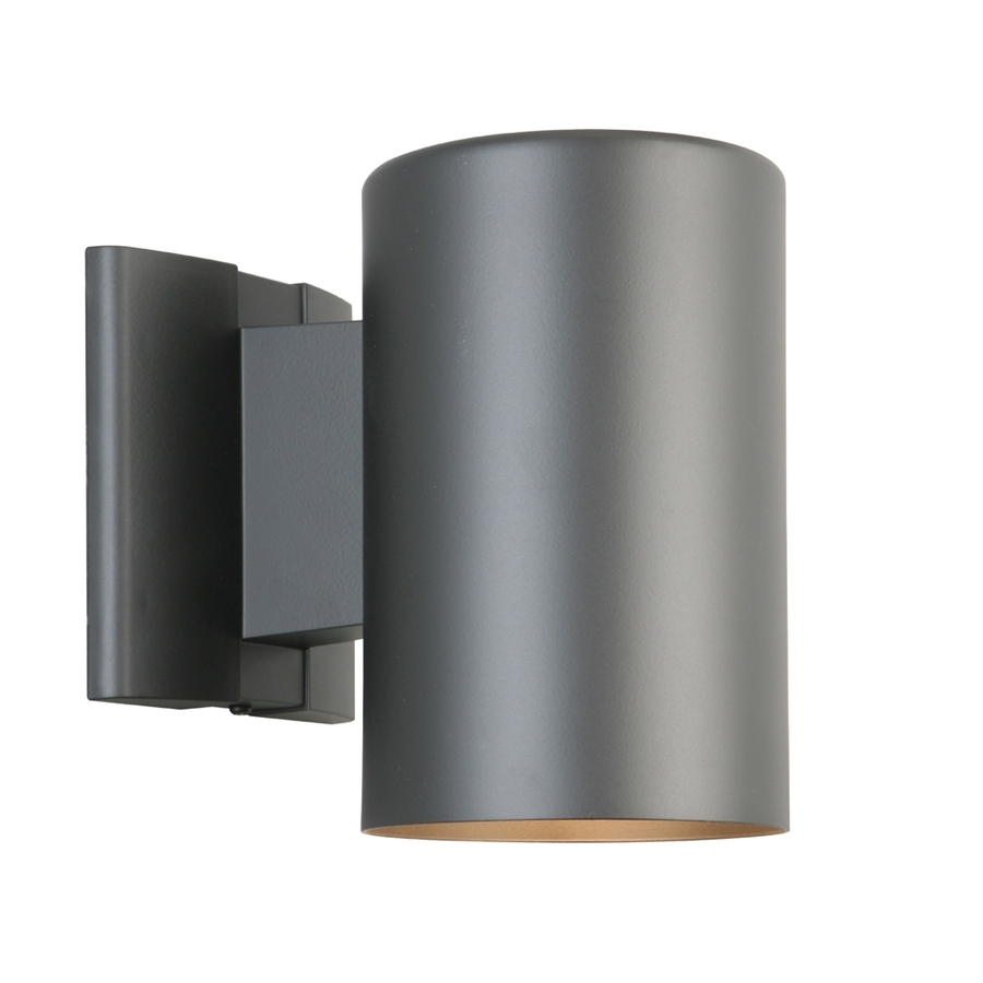Shop Portfolio 7 In H Matte Black Dark Sky Outdoor Wall Light At With Regard To Dark Sky Outdoor Wall Lighting (View 3 of 15)