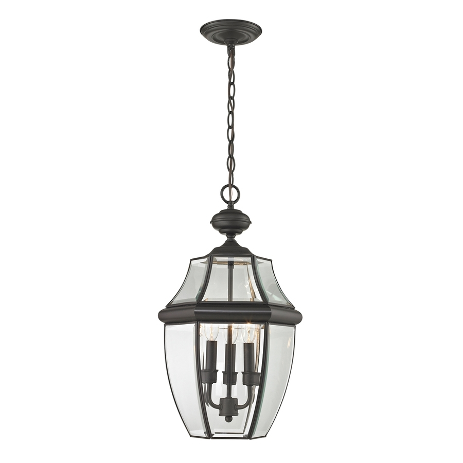 Shop Westmore Lighting Keswick 21 In Oil Rubbed Bronze Outdoor In Oil Rubbed Bronze Outdoor Hanging Lights (#13 of 15)