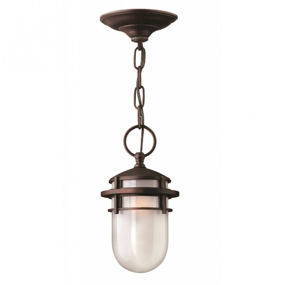 Single Light Nautical Victorian Bronze Outdoor Ceiling Pendant Light Intended For Outdoor Ceiling Pendant Lights (#15 of 15)