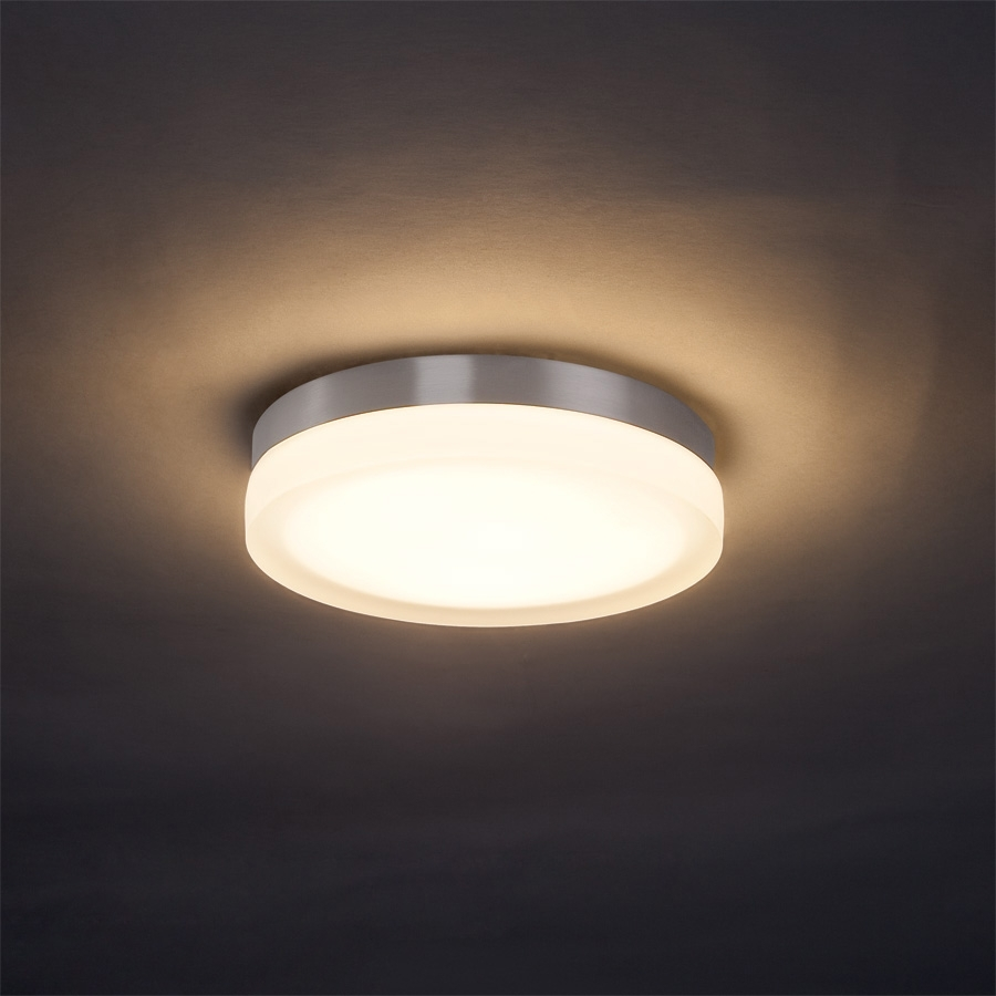Slice Round Wall/ceiling Light | Dweledwac Lighting At Regarding Round Outdoor Ceiling Lights (#14 of 15)