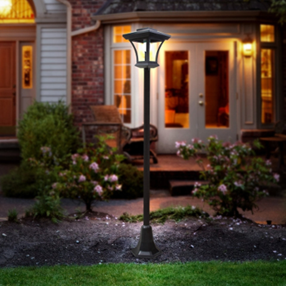 Solar Cattail Lights | Wayfair Pertaining To Modern Solar Garden Lights At Wayfair (#12 of 15)