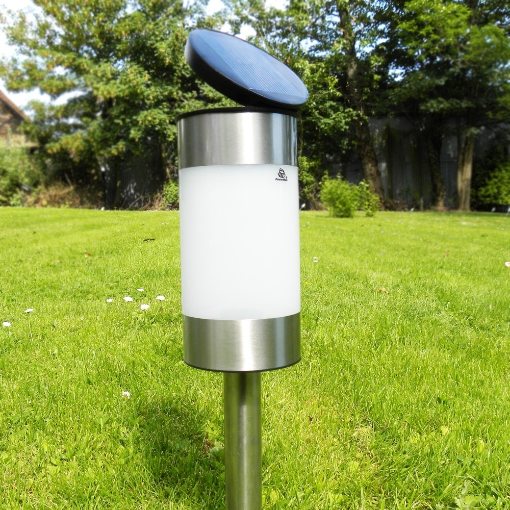 Solar Garden Lights Powerbee ® Saturn Within Solar Powered Outdoor Lights (View 10 of 15)