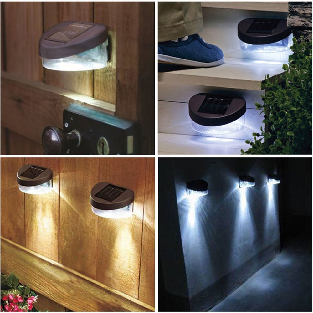 Solar Garden Lights Wall Mounted • Wall Mount Ideas Pertaining To Solar Powered Outdoor Lights (View 13 of 15)