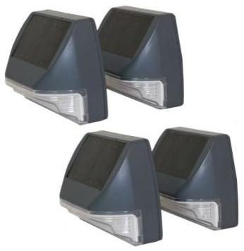Solar Outdoor Wall Lights – Coryc Inside Pir Solar Outdoor Wall Lights (#11 of 15)