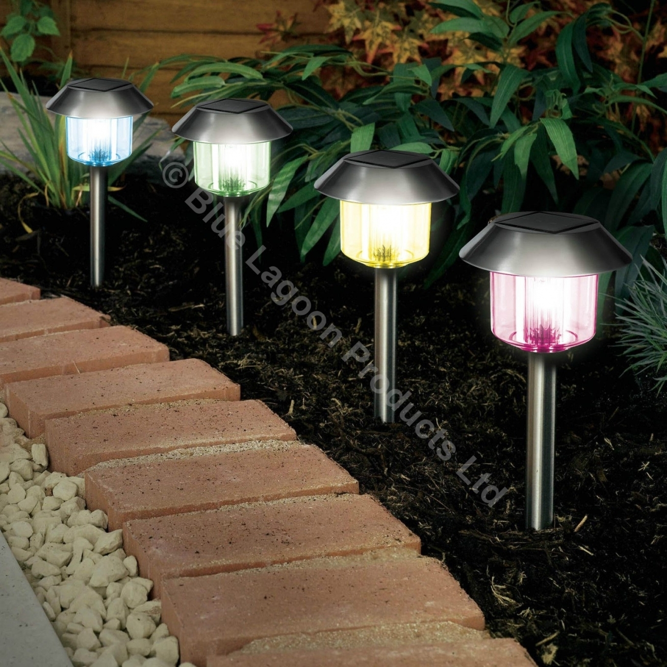 Popular Photo of Solar Powered Outdoor Lights