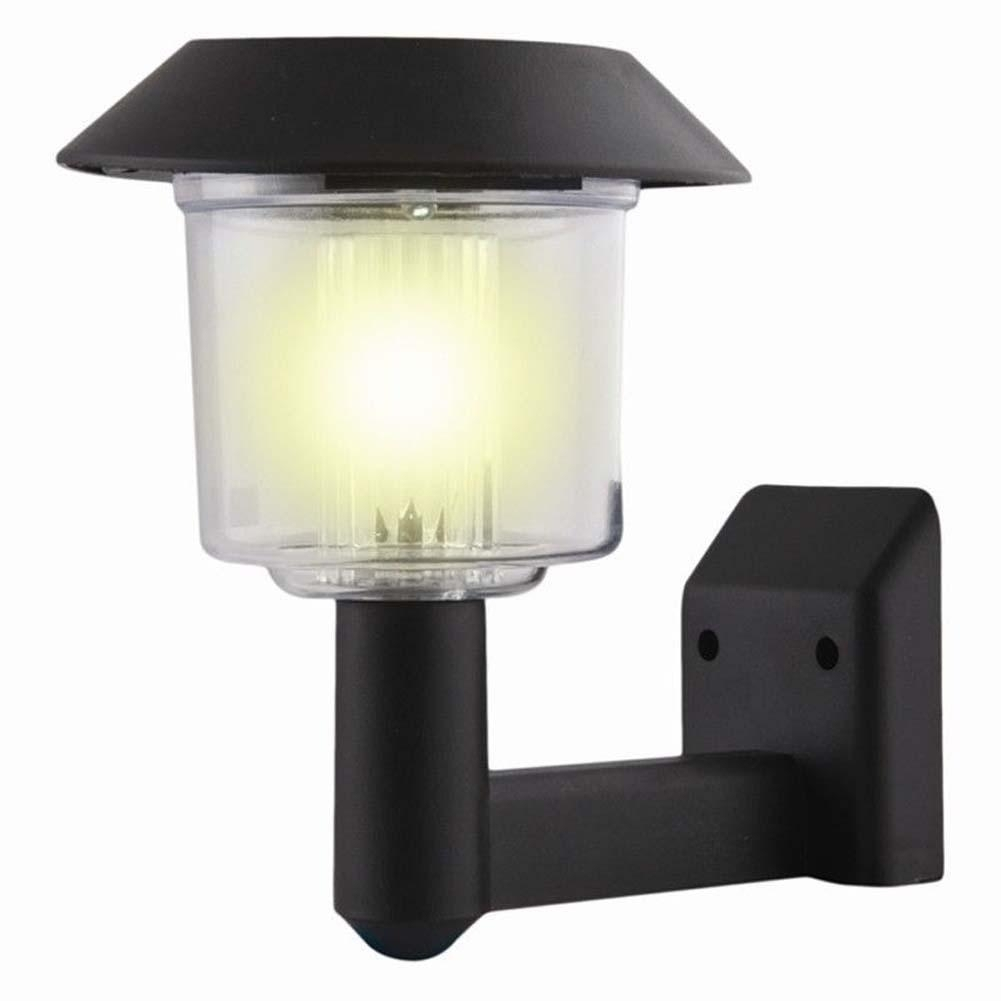 Solar Powered Wall Light Auto Sensor Fence Led Garden Yard Fence Pertaining To Outdoor Solar Wall Lights (View 5 of 15)