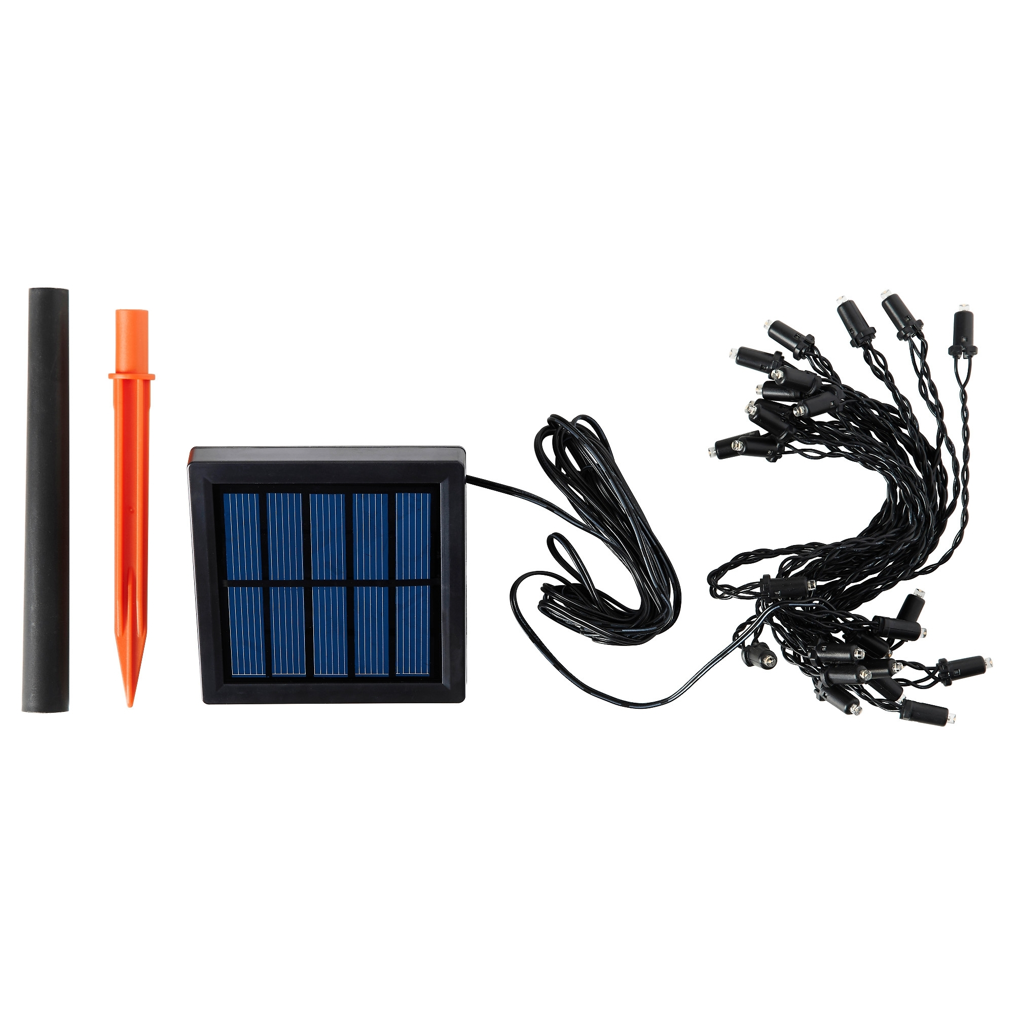 Solarvet Led String Light With 24 Lights – Ikea With Ikea Battery Operated Outdoor Lights (#13 of 15)