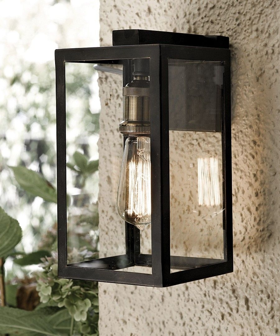 Southampton 1 Light Small Wall Bracket In Antique Black | Home In Beacon Lighting Outdoor Wall Lights (#11 of 15)